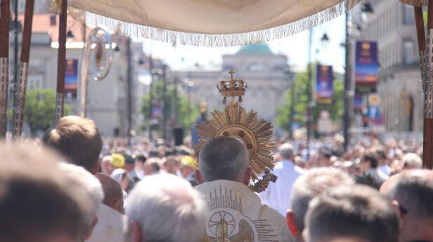 Obchody Bożego Ciała (zdjęcie archiwalne) Artur Węgrzynowicz / tvnwarszawa.pl