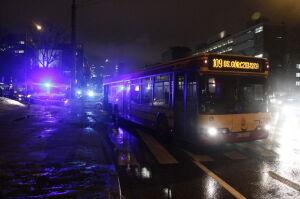 Autobus śmiertelnie potrącił kobietę. Policja sprawdzi monitoring