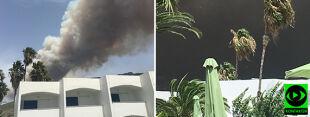 """""""Sytuacja jest ekstremalna"""". Pożar uwięził turystów w hotelach, Akropol spowity dymem"""