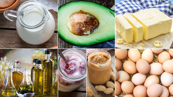 Poznaj tłuste produkty, które możesz każdego dnia jeść bez obaw