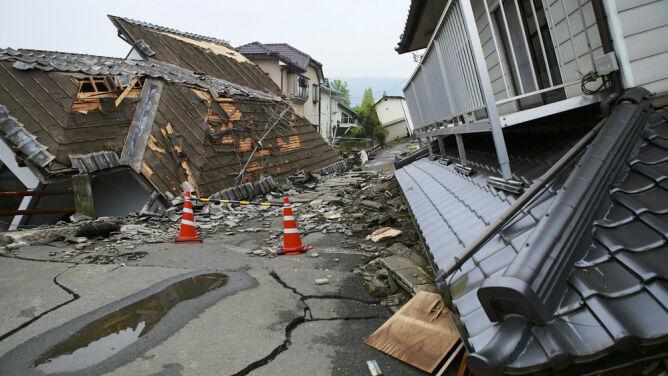 """""""W tym roku mieliśmy spokój"""". <br />W przyszłym trzęsień będzie więcej"""