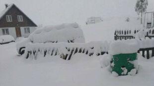 Czarnogóra przysypana śniegiem. W innych bałkańskich krajach też sypnęło
