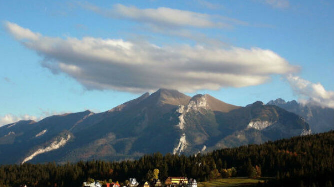 """Zjawiskowe jesienne góry. """"UFO nad Tatrami"""""""