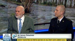 Hydrolog o sytuacji w Polsce (TVN24)
