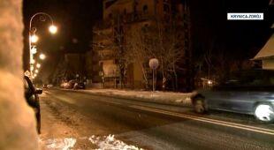 Spadł śnieg na południu Polski (TVN24)